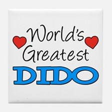 Worlds Greatest Dido Tile Coaster