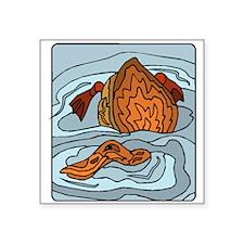Duck Swimming Sticker