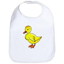 Yellow Duckling Bib