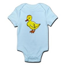 Yellow Duckling Body Suit