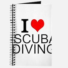 I Love Scuba Diving Journal