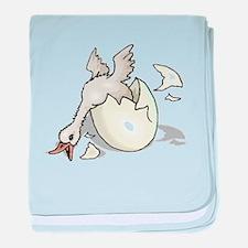 Duck Hatching baby blanket