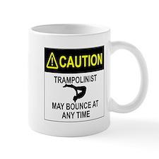 Caution Trampolinist Mugs