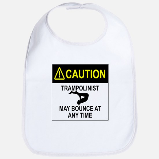 Caution Trampolinist Bib