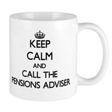 Keep calm and call the Pensions Adviser Mugs