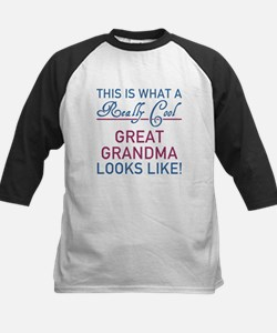 Really Cool Great Grandma Baseball Jersey