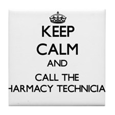Cute Pharmacy technician Tile Coaster