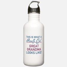 Cute Great grandmother Water Bottle