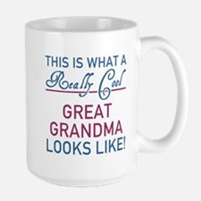 Really Cool Great Grandma Mugs