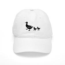Duck Family Baseball Baseball Cap