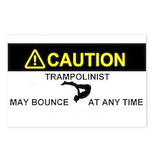 Cute Trampoline Postcards (Package of 8)