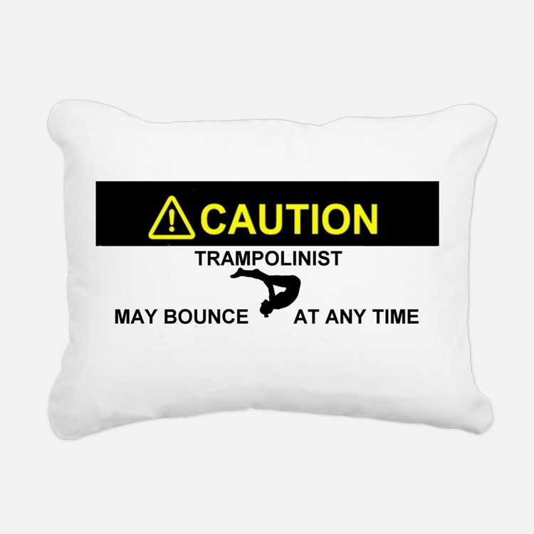 Cute Trampoline Rectangular Canvas Pillow