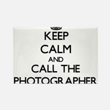 Keep calm and call the Photographer Magnets