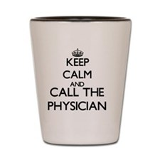 Unique Doctor physical therapy Shot Glass