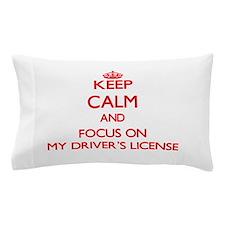 Cute Driver's license Pillow Case