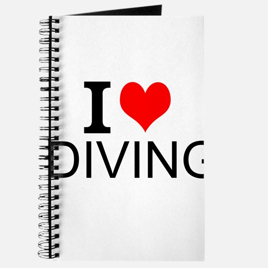I Love Diving Journal