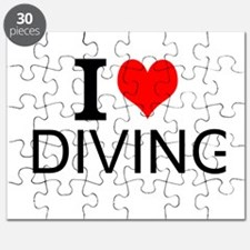 I Love Diving Puzzle