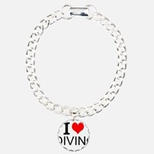 I Love Diving Bracelet