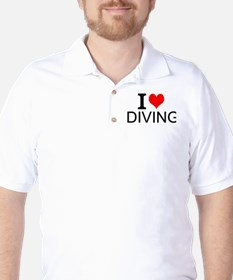 I Love Diving T-Shirt
