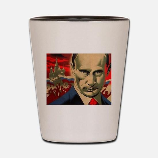 Funny Putin Shot Glass