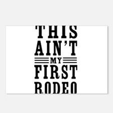 This Ain't My First Rodeo Postcards (Package of 8)