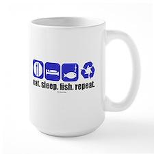 eatsleepfishblu Mugs
