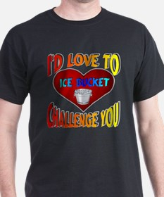 I'd Love To Ice Bucket Challenge You T-Shirt