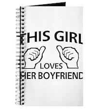 This Girl Loves Her Boyfriend Journal