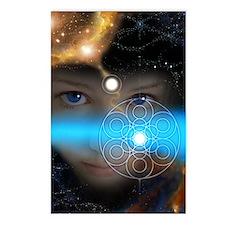 Mystic Child, 8 postcards