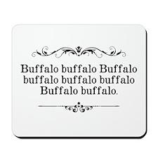 Buffalo Buffalo Sentence Mousepad