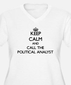 Keep calm and call the Political Analyst Plus Size