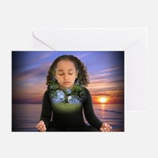 Personal Inner Hologram, 10 greeting cards