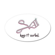 Keep It Curled Wall Decal