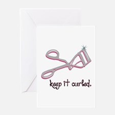 Keep It Curled Greeting Cards