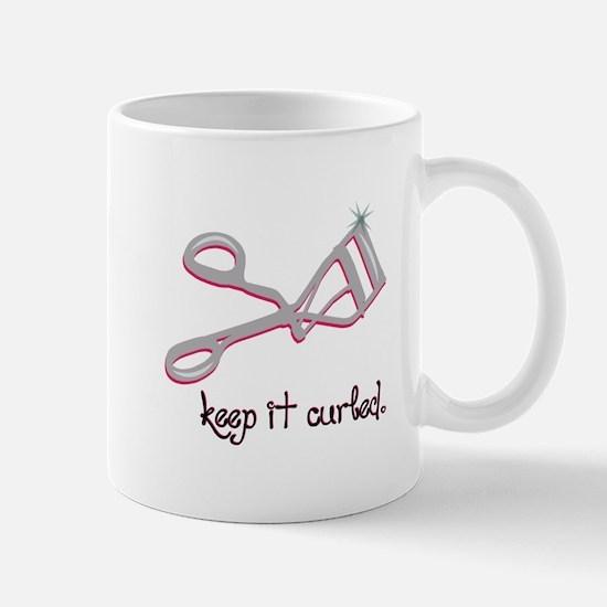 Keep It Curled Mugs