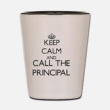 Unique Principal Shot Glass
