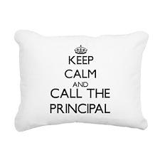 School principals Rectangular Canvas Pillow