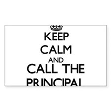 Keep calm and call the Principal Decal