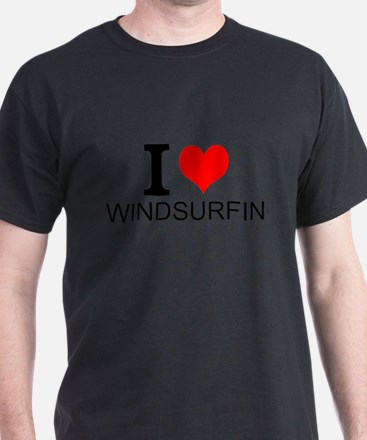 I Love Windsurfing T-Shirt