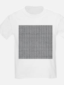 Denim Jean Houndstooth Pattern T-Shirt
