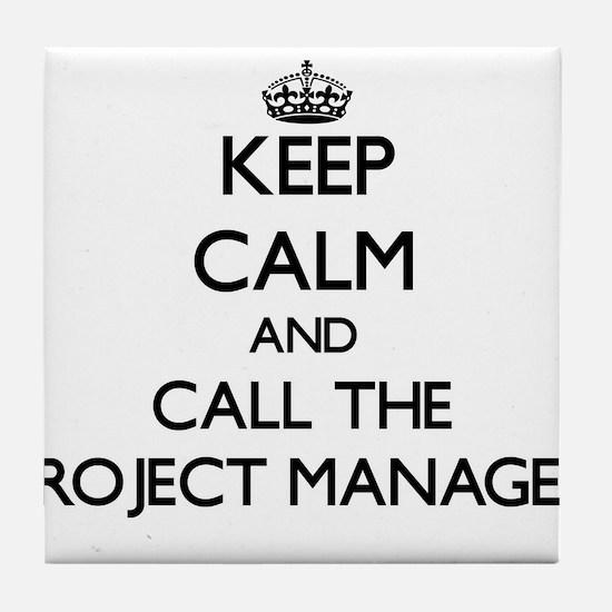 Unique Project manager Tile Coaster