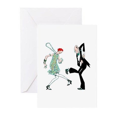 1920s Dance - Greeting Cards (Pk of 10)