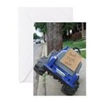 Don't Drink & Drive (10 Greeting Cards)