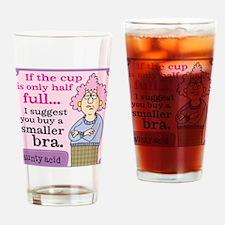 Aunty Acid: Half Full Drinking Glass