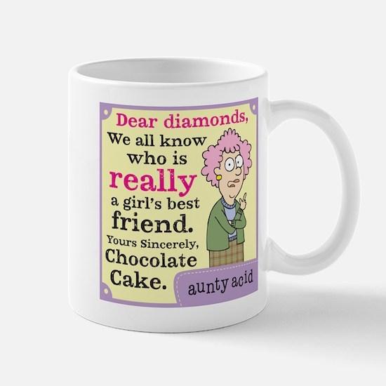 Aunty Acid: Dear Diamonds Mug
