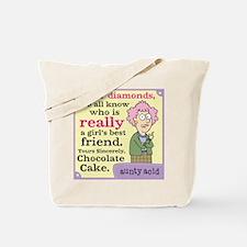 Aunty Acid: Dear Diamonds Tote Bag