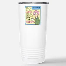 Aunty Acid: Show Me Cof Travel Mug