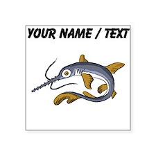 Custom Saw Fish Sticker