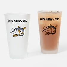 Custom Saw Fish Drinking Glass