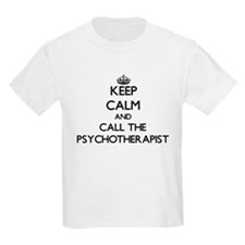 Keep calm and call the Psychotherapist T-Shirt